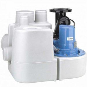 HOMA Sanistar 110W Abwasser-Hebeanlage Drehstrom - mit integrierte Rückschlagklappe