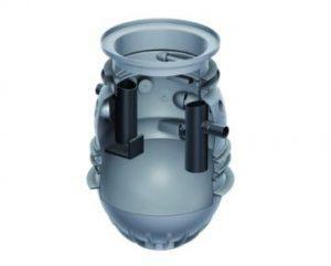 ACO Lipumax P-B NS 4 Fettabscheider Erdeinbau