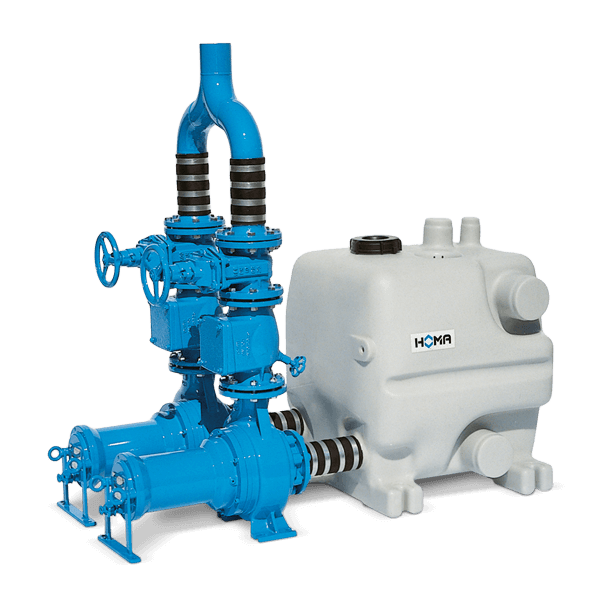 HOMA Sanimaster PE40 T-TP70M134D Abwasser-DoppelHebeanlage