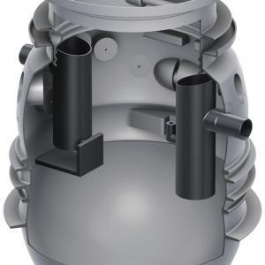 Fettabscheider ACO Lipumax P-B NS 2 - Erdeinbau